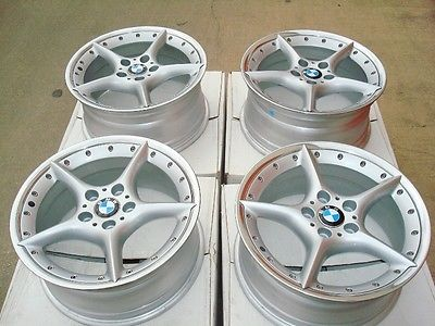 Bmw Factory 18 Staggered Bbs Style 108 Oem Wheels E85 Z4